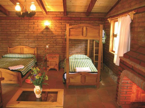 Dormitorios en Capulalpam